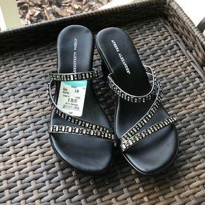 Brand New Athena Alexander wedge sandals